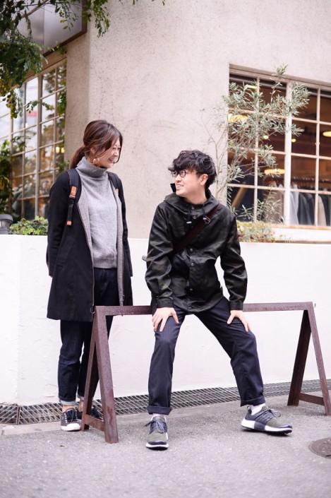 (左)いねさん(右)松井紫恩さん
