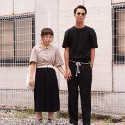 (左)飯野ゆきのさん(右)長崎茂さん