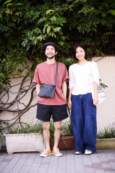 (左)ミツオカケントさん(右)上原優紀さん