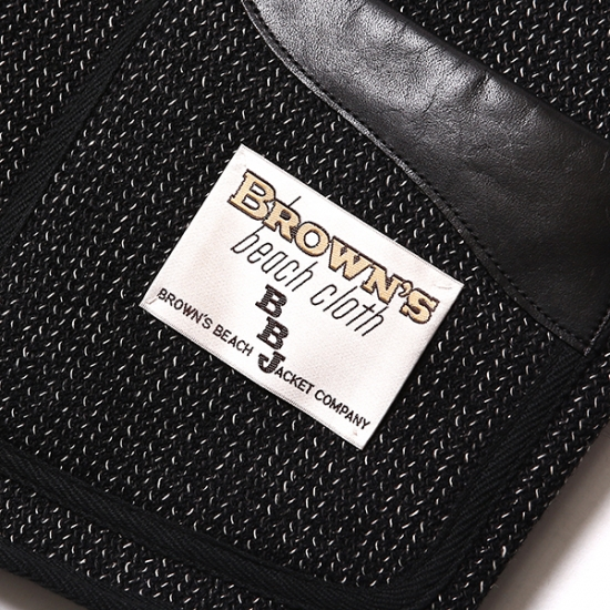 BROWN'S BEACH JACKET×RUDE GALLERY BLACK REBEL
