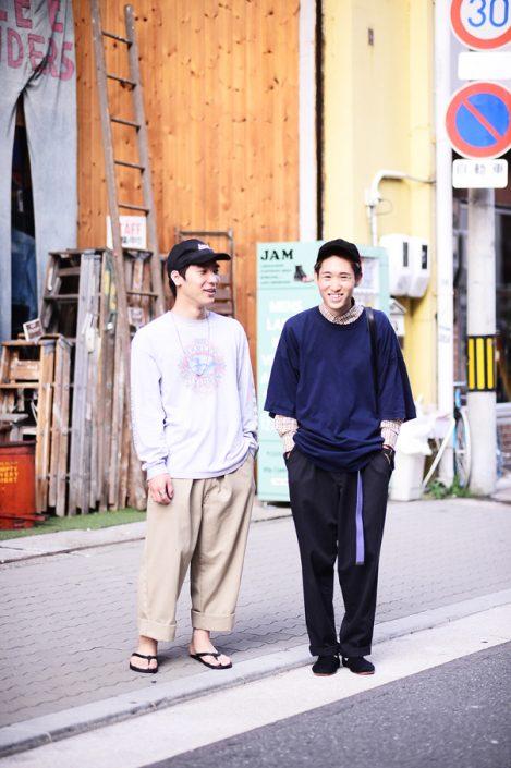 (左)荒木雅人さん(右)堀川一真さん