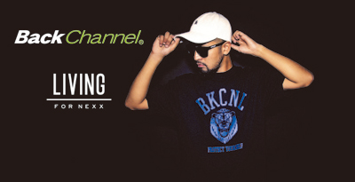 Back Channel × LIVING for nexx 25th Anniversary
