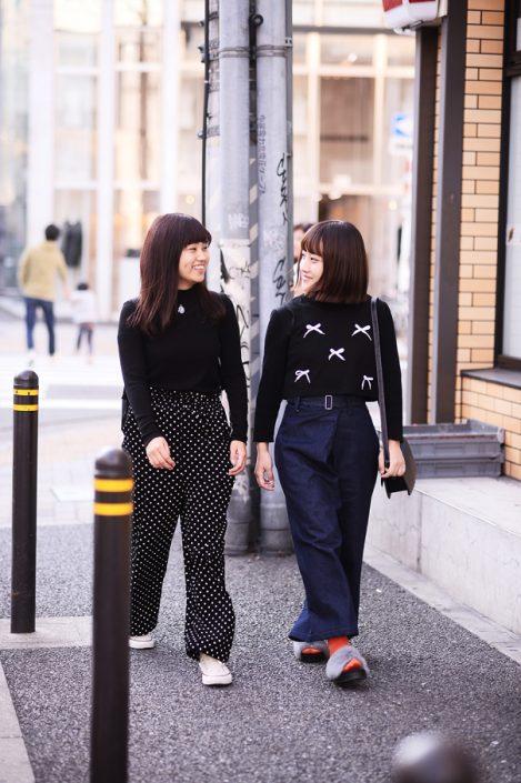 (左)葵さん(右)萌奈さん