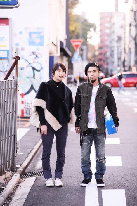 (左)竹内奈緒さん(右)寺尾純一さん