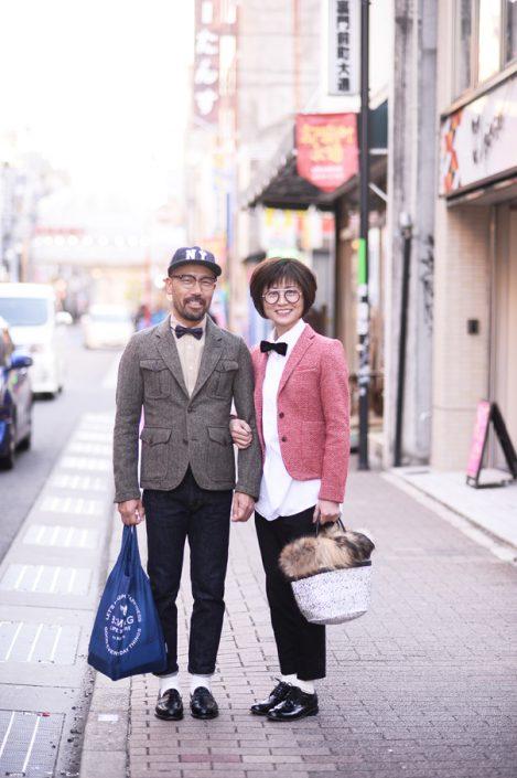 (左)大島明宏さん(右)大島智子さん