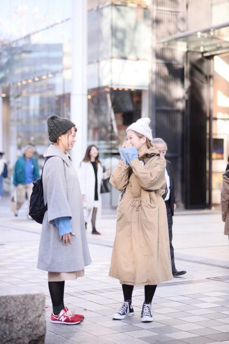 (左)加藤 彩さん(右)めいさん