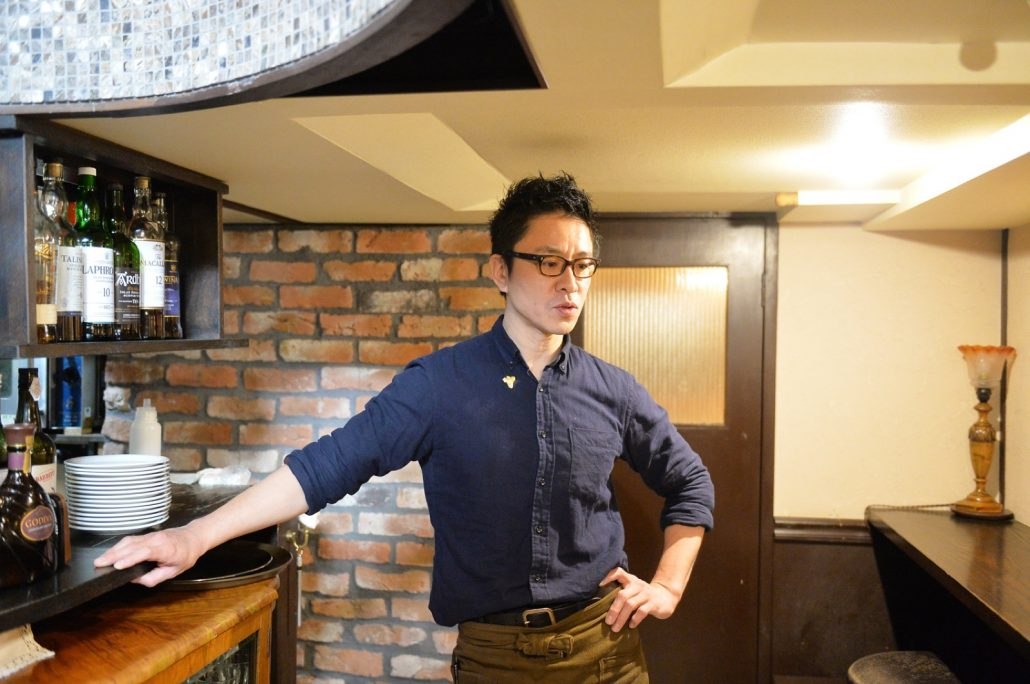 WINE CAFE LUCE 井上さん