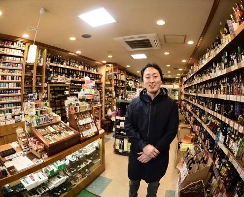 世界の銘酒&たばこ専門店 スピリッツ 中野さん